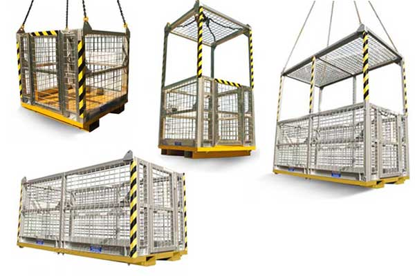 CRANE Cages AND OVERHEAD LIFTING