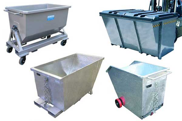 FORKLIFT WASTE & STORAGE BIN Options